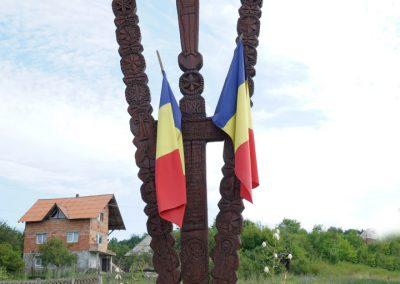 Monumentul Eroilor Satului – Troiță din lemn – Asuaju de Jos