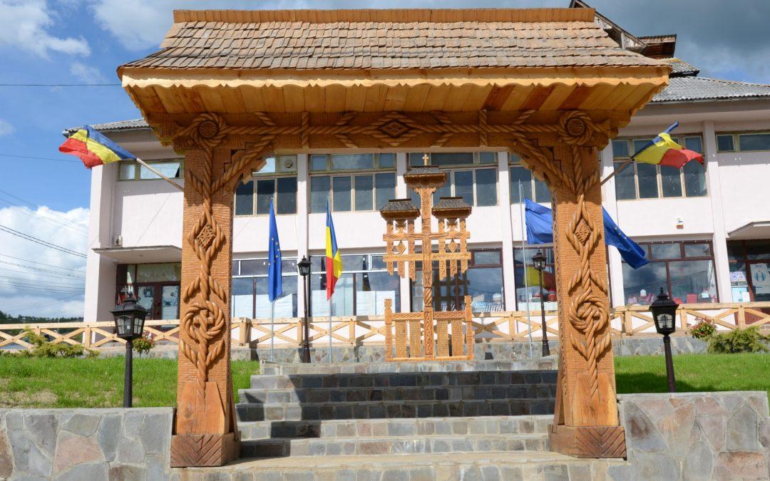 Troița Monument pentru Eroii din Primul și al Doilea Război Mondial, Bârsana, comuna Bârsana