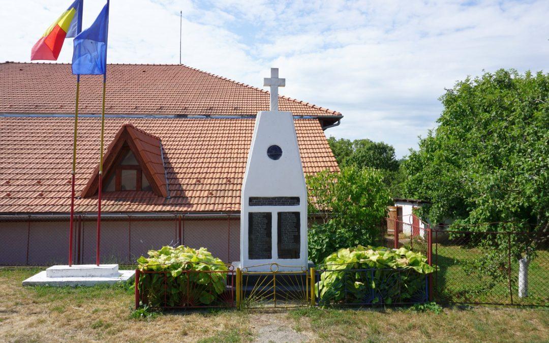 Monumentul Eroilor din cele Două Războaie Mondiale, Bicaz, comuna Bicaz