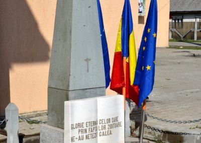 Monumentul Eroilor, Bistra, comuna Bistra