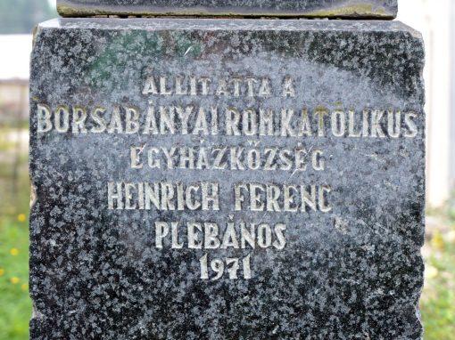 Borșa – Monumentul Eroilor Romano-Catolici din Primul și al Doilea Război Mondial