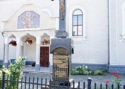 Crucea de piatră – Monument al Eroilor, Bozânta Mare, orașul Tăuții-Măgherăuș