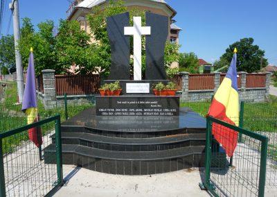 Cruce Comemorativă a Eroilor căzuți în Primul și al Doilea Război Mondial, Bozânta Mica, comuna Recea