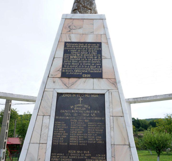 Monumentul Eroilor căzuți pentru libertate, Buciumi, orașul Șomcuta Mare