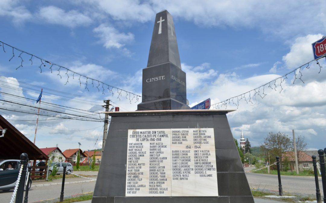 Monumentul Eroilor, Cernești, comuna Cernești