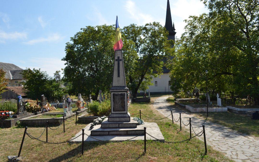 Monumentul Eroilor, Cetățele, comuna Șișești