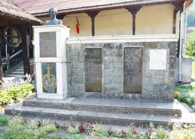 Chiuzbaia, orașul Baia Sprie – Monumentul Eroilor din cele Două Războaie Mondiale