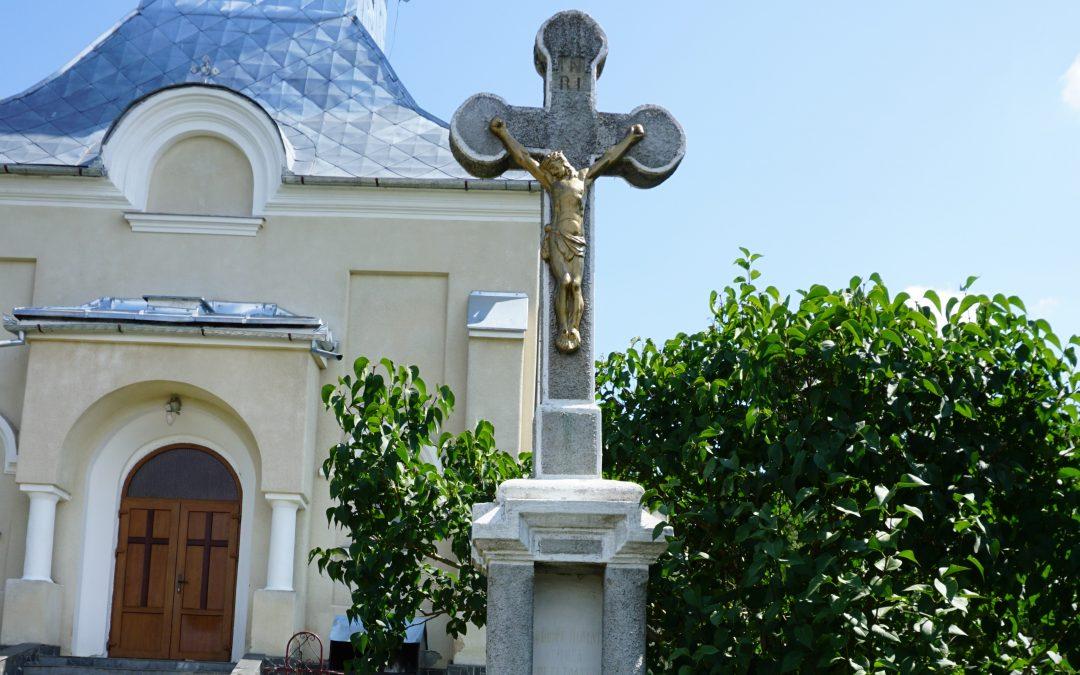 Ciuta, comuna Bicaz – Cruce Monument pentru Eroii din Primul Război Mondial