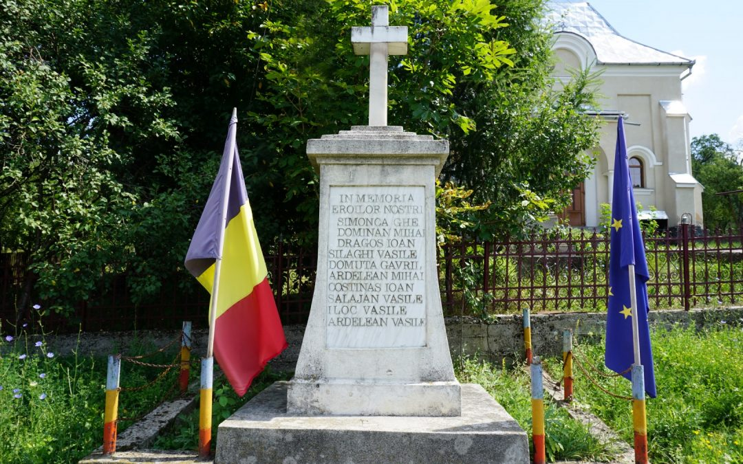 Ciuta, comuna Bicaz – Monumentul Eroilor din cele Două Războaie Mondiale