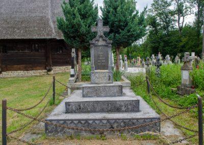 Coruia – Crucea Monument în memoria Eroilor
