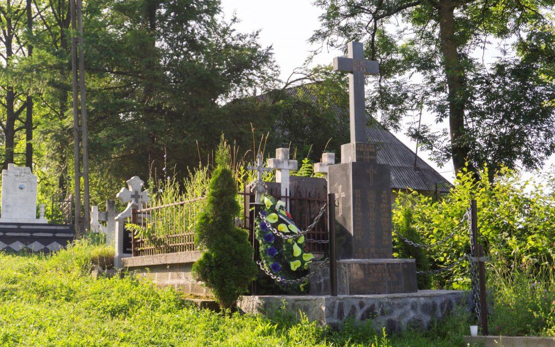 Costeni – Monumentul Eroilor – Cruce de Piatră