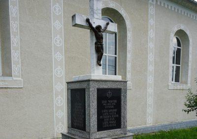 Cufoaia – Monumentul Eroilor din cele Două Războaie Mondiale