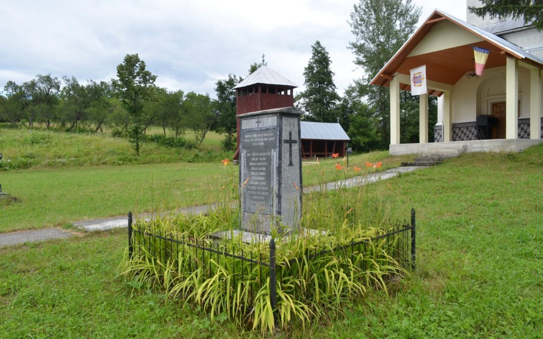 Curtuiușu Mic – Monumentul Eroilor din cele două Războaie Mondiale