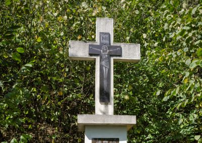 Dănești – Cruce Monument Memorial în cinstea Eroilor