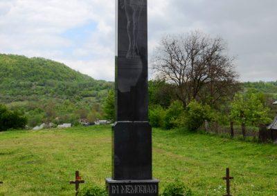 Dragomirești – Crucea Monument pentru Ostașii Eroi căzuți pe câmpurile de luptă