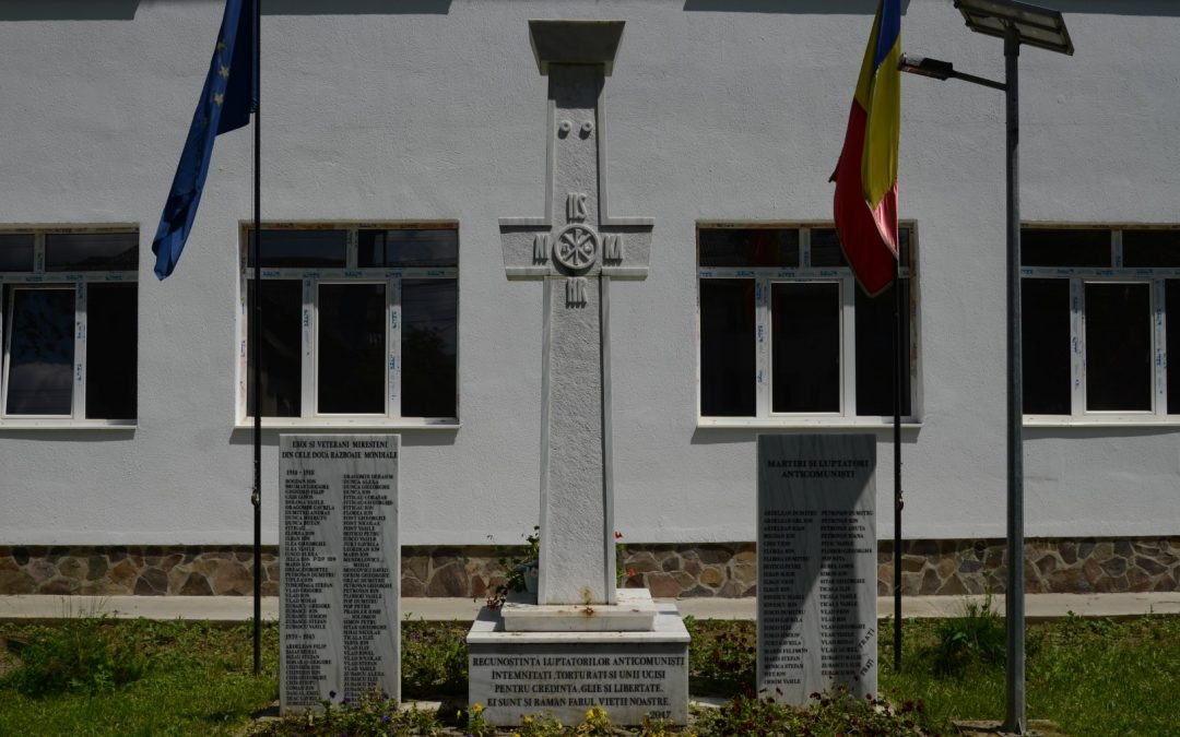 Dragomirești – Monumentul Martirilor și Luptătorilor Anticomuniști și al Eroilor din cele Două Războaie Mondiale