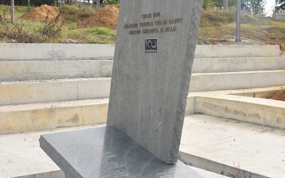 Groși – Monumentul Eroilor