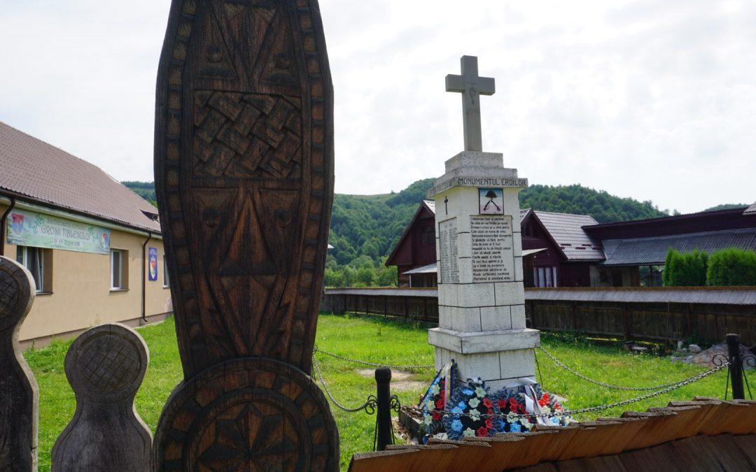 Groșii Țibleșului – Monumentul Eroilor