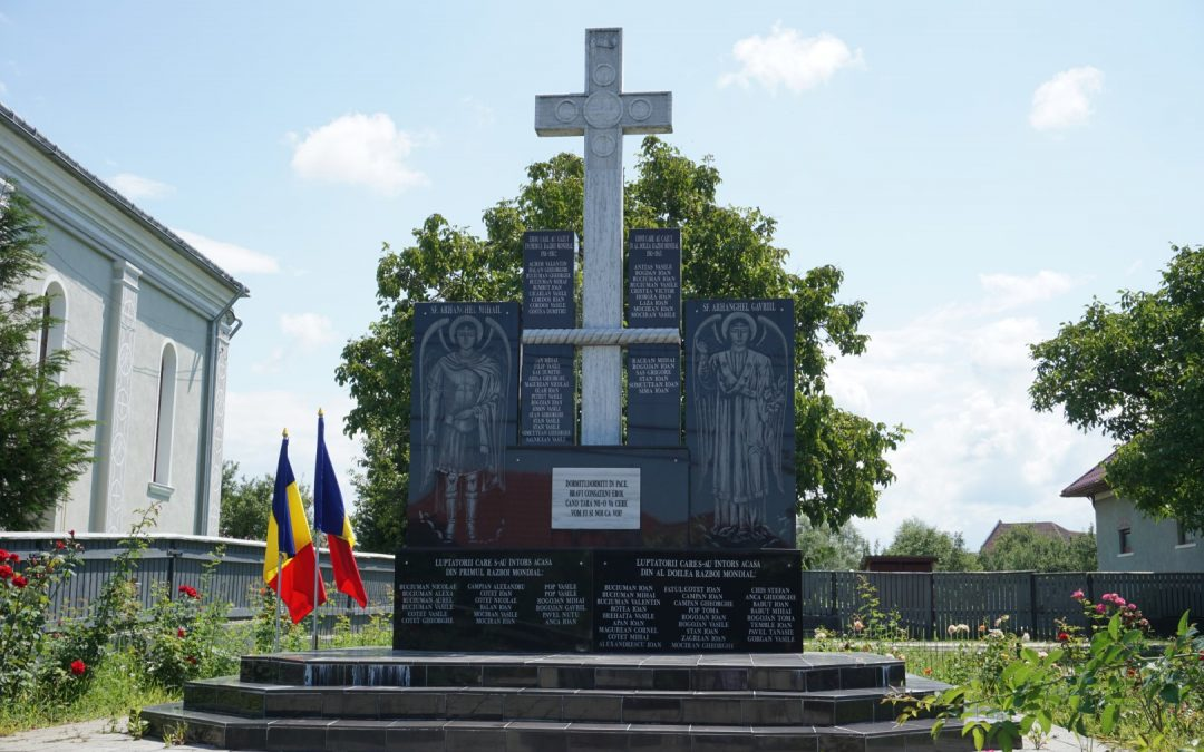 Lăpușel – Monumentul Eroilor căzuți în cele Două Războaie Mondiale