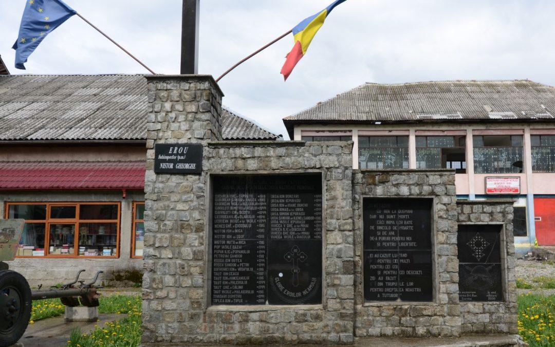 Leordina – Monumentul Eroilor din Primul și al Doilea Război Mondial