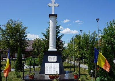 Mocira – Monumentul Eroilor din cele Două Războaie Mondiale