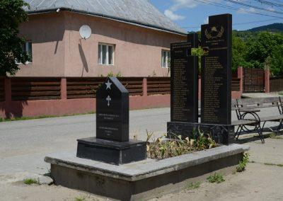 Rona de Sus – Monumentul Soldatului Necunoscut, al Eroilor și Veteranilor de Război
