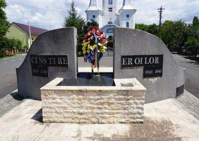 Săsar – Monumentul Eroilor din cele Două Războaie Mondiale