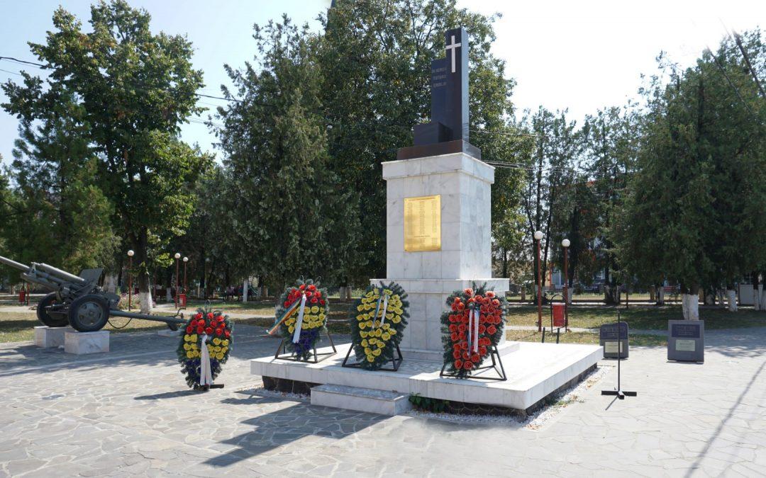 Seini – Monumentul Eroilor din Primul și al Doilea Război Mondial