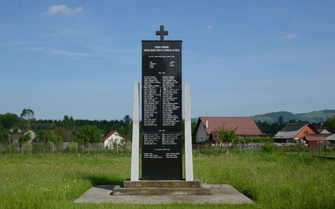 Șieu – Monumentul Eroilor căzuți pe Câmpurile de Bătălie