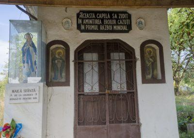 Șișești – Capela Eroilor din Primul Război Mondial