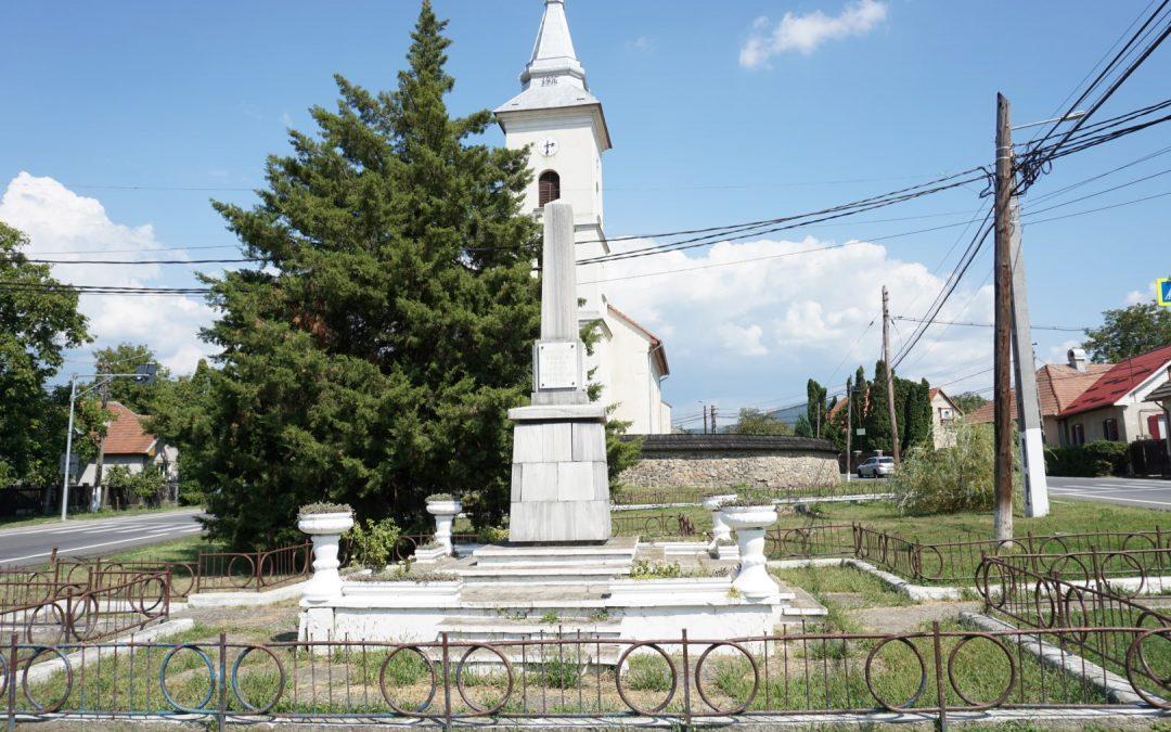 Tăuții-Măgherăuș – Monumentul Obelisc al Eroilor Români