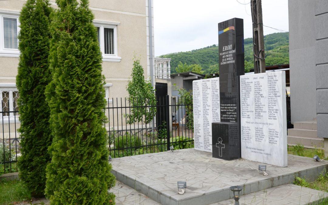 Vișeu de Jos – Monumentul Eroilor din Primul și al Doilea Război Mondial