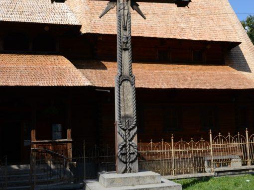 Vișeu de Sus – Troița Martirilor Bisericii Române Unite cu Roma și a Eroilor Neamului